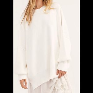 NWOT Free People Easy street Tunic sweater